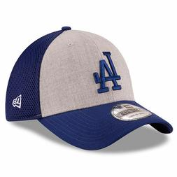 Los Angeles Dodgers New Era 39THIRTY Heathered Neo Flex Hat