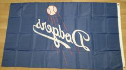 Los Angeles Dodgers 3x5 Flag. US seller. Free shipping withi