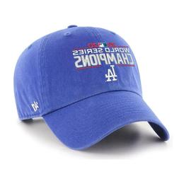 Los Angeles Dodgers '47 2020 World Series Champions Clean Up