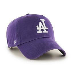 Los Angeles Dodgers 47 Brand Purple Clean Up Strap Adjustabl