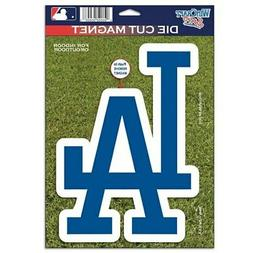 "Los Angeles Dodgers WinCraft 6"" x 9"" Car Magnet"