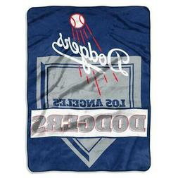 Los Angeles Dodgers 60x80 Raschel Throw Blanket - Home Plate