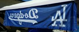 Los Angeles Dodgers 8ft x 2Ft Tailgate Banner flag, canopy b