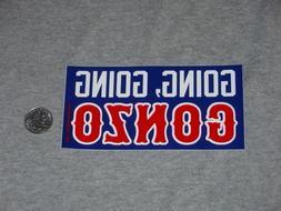 Los Angeles Dodgers Adrian Gonzalez Gonzo Home Run Logo Bump