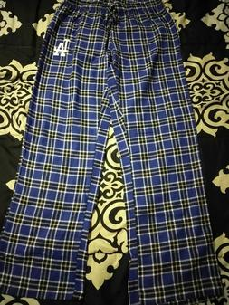 Los Angeles Dodgers Adult sz S Pajama Pants- Unisex. New w/o