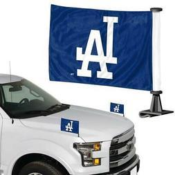 los angeles dodgers ambassador car flag 2
