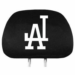 Los Angeles Dodgers Auto Head Rest Covers 2 Pack  MLB Car Se