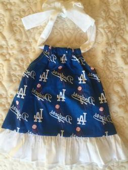 Los Angeles Dodgers Baby Dress Size 12 Months