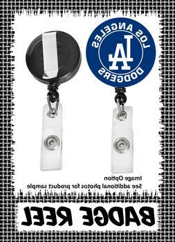Los Angeles Dodgers - Badge Reel - Choose From 12 Designs