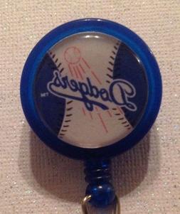 Mlb Los Angeles Dodgers Badge Reel - Dodgers - Dodgers Badge