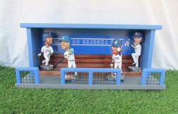 Los Angeles Dodgers Baseball Bobblehead Stadium Dugout Displ