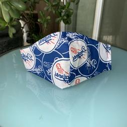 MLB Los Angeles Dodgers Baseball Fabric Face Mask / Covering