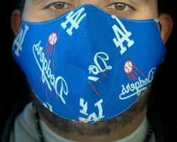 MLB Los Angeles Dodgers Baseball  Face Mask