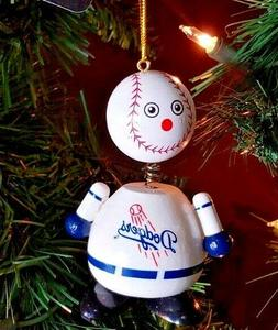 LOS ANGELES DODGERS BASEBALL MAN CHRISTMAS ORNAMENT 4''