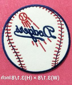 Los Angeles Dodgers Baseball Patch for iron and sewing on cl