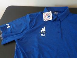 LOS ANGELES DODGERS Baseball UNDER ARMOUR Polo Coaching XL G