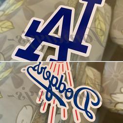 Los Angeles Dodgers Baseball Team Logo MLB Sticker Decal Vin
