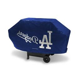 los angeles dodgers bbq grill cover deluxe