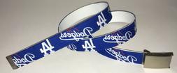 Los Angeles DODGERS BELT Buckle Baseball Team MLB Fan Game G