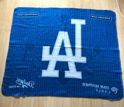 LOS ANGELES DODGERS blanket throw fleece MLB baseball diamon