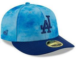 LOS ANGELES DODGERS NEW ERA BLUE MEN'S LP 59FIFTY FATHERS DA