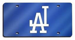 Los Angeles Dodgers BLUE Premium Laser Tag Acrylic Inlaid Li