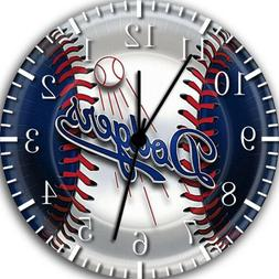 Los Angeles Dodgers Frameless Borderless Wall Clock For Gift