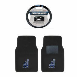 Los Angeles Dodgers Carpet Floor Mats & Steering Wheel Cover