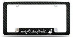 Los Angeles Dodgers Chrome License Plate Frame Metal Tag Cov