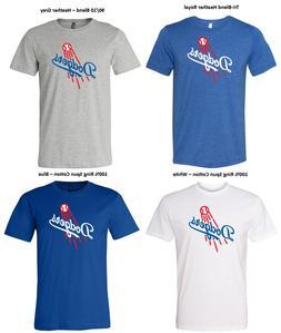 Los Angeles Dodgers Classic Vintage Logo Super Soft Slim Fit