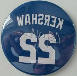 Los Angeles Dodgers CLAYTON KERSHAW #22 Blue Magnet Size 3X3