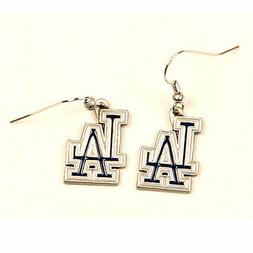LOS ANGELES DODGERS Dangle Earrings Officially Licensed NEW
