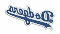 Los Angeles Dodgers  Decal / Sticker Die cut