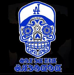 LOS ANGELES DODGERS DIA DE LOS DODGERS METAL FRIDGE MAGNET #