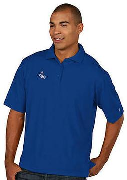 Los Angeles Dodgers Antigua Embroidered Pique Xtra-Lite Blue