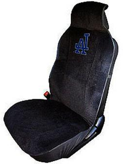 Los Angeles Dodgers Embroidered Seat Cover   Car Auto MLB Bl