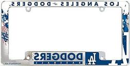 Los Angeles Dodgers EZ View All Over Chrome Frame Metal Lice