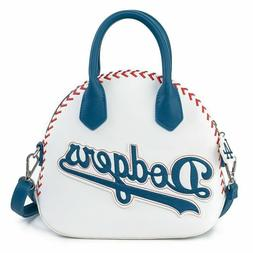 Los Angeles Dodgers Loungefly Faux Leather logo jacket Purse