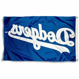 LOS ANGELES DODGERS FLAG 3'X5' MLB BANNER: FAST FREE SHIPPIN