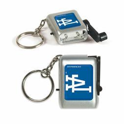 Los Angeles Dodgers Flashlight Keychain MLB Keyring New