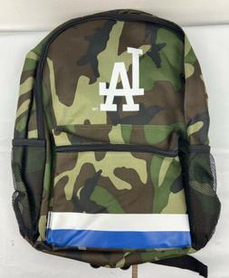 Los Angeles Dodgers FOCO Camo Stripe Backpack