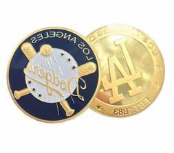 Los Angeles Dodgers Gold Challenge Medal Coins sport Basebal