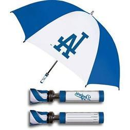 Los Angeles Dodgers Golf Umbrella With ID Handle