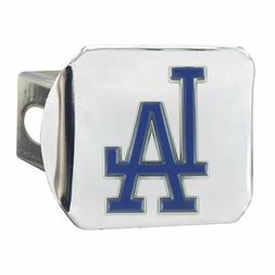 Los Angeles Dodgers Heavy Duty 3-D Color Emblem Chrome Metal