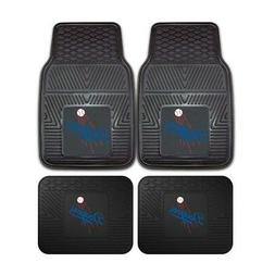 Los Angeles Dodgers Heavy Duty 2-Piece Vinyl Car Mats