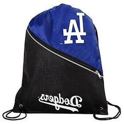 * Los Angeles Dodgers High End Zipper Drawstring Backpack Sc