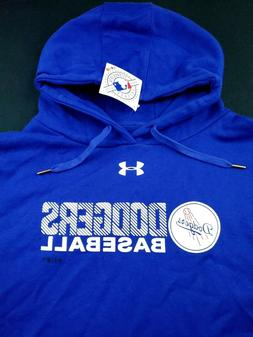 Los Angeles Dodgers Under Armour Hoodie Sweater Pullover Off