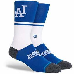 Los Angeles Dodgers Stance Infiknit Color Crew Socks