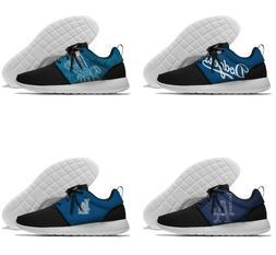 LOS ANGELES DODGERS LA Men's Womens Lightweight Shoes Sneake