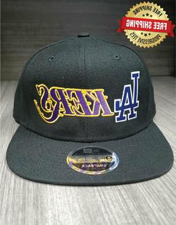 Los Angeles Dodgers Lakers Adult Snapback Hat 2020 Embroider